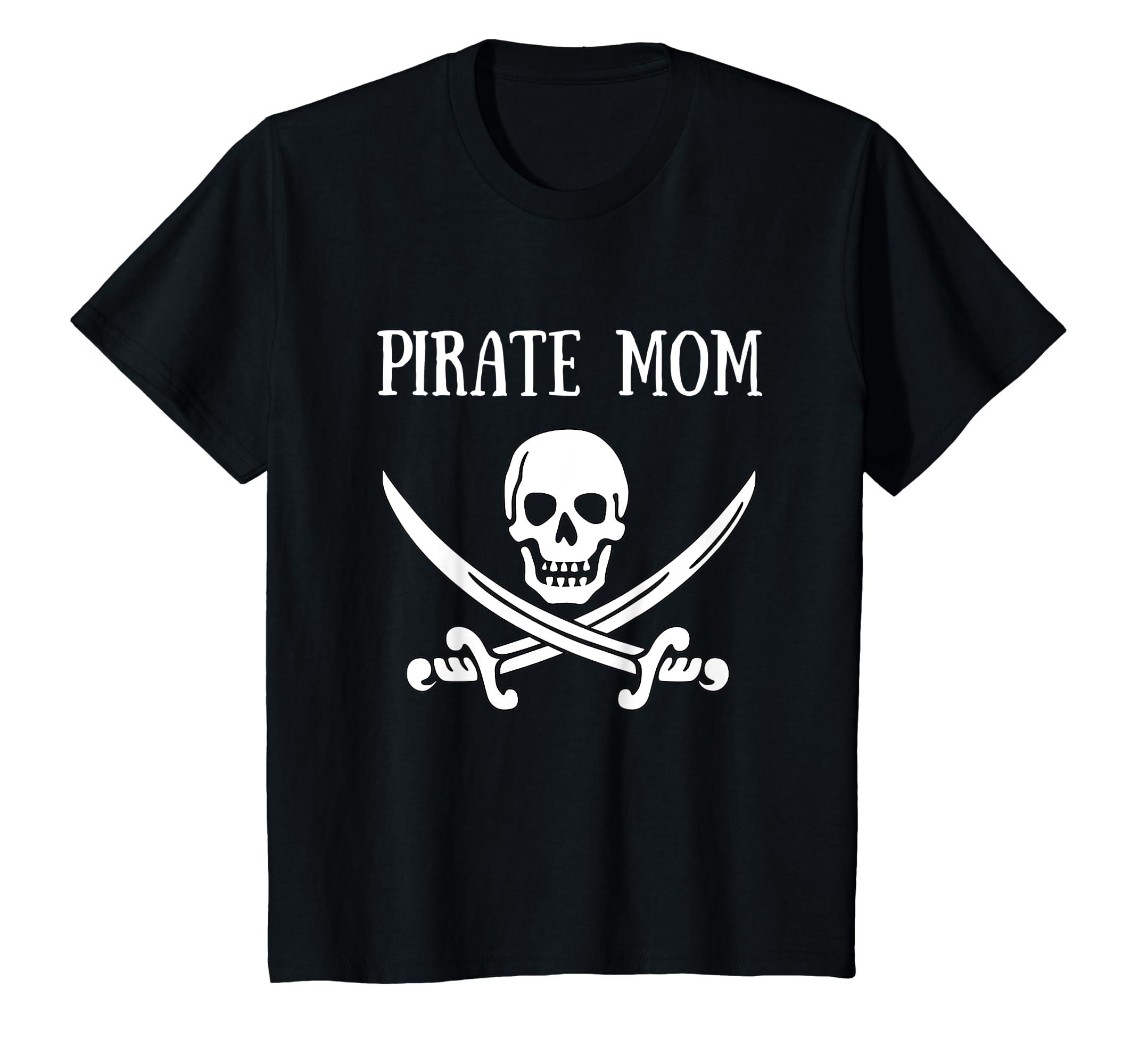 Amazon.com  Pirate Mom Shirt Pirate Family Shirts Family Matching Shirts   Clothing 982dac084