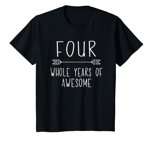 Image Unavailable Not Available For Color Kids Fourth Birthday Boy Shirt 4 Year Old