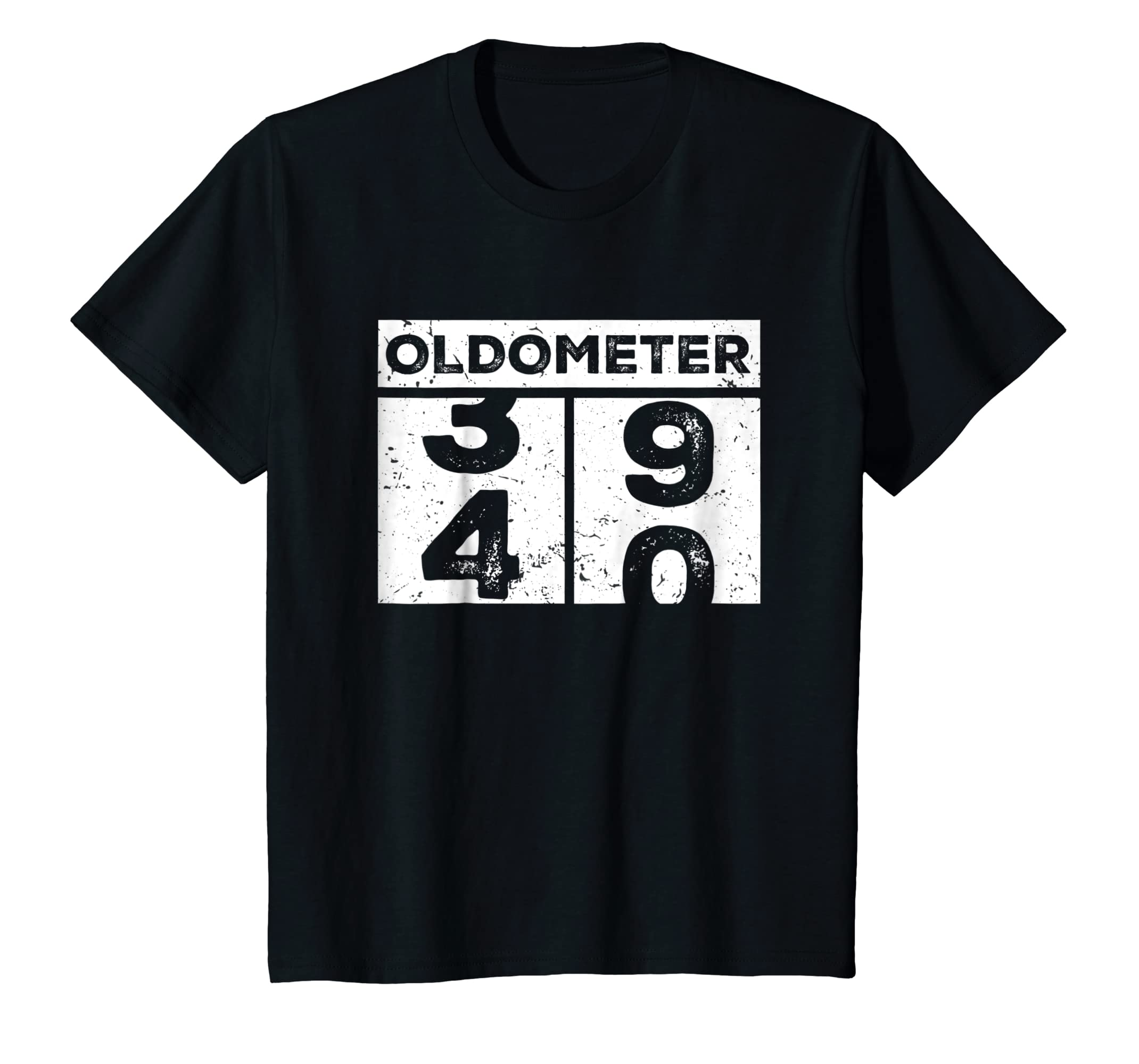Oldometer 40 Funny 40th Birthday Counting Shirt Gift For Men-Awarplus