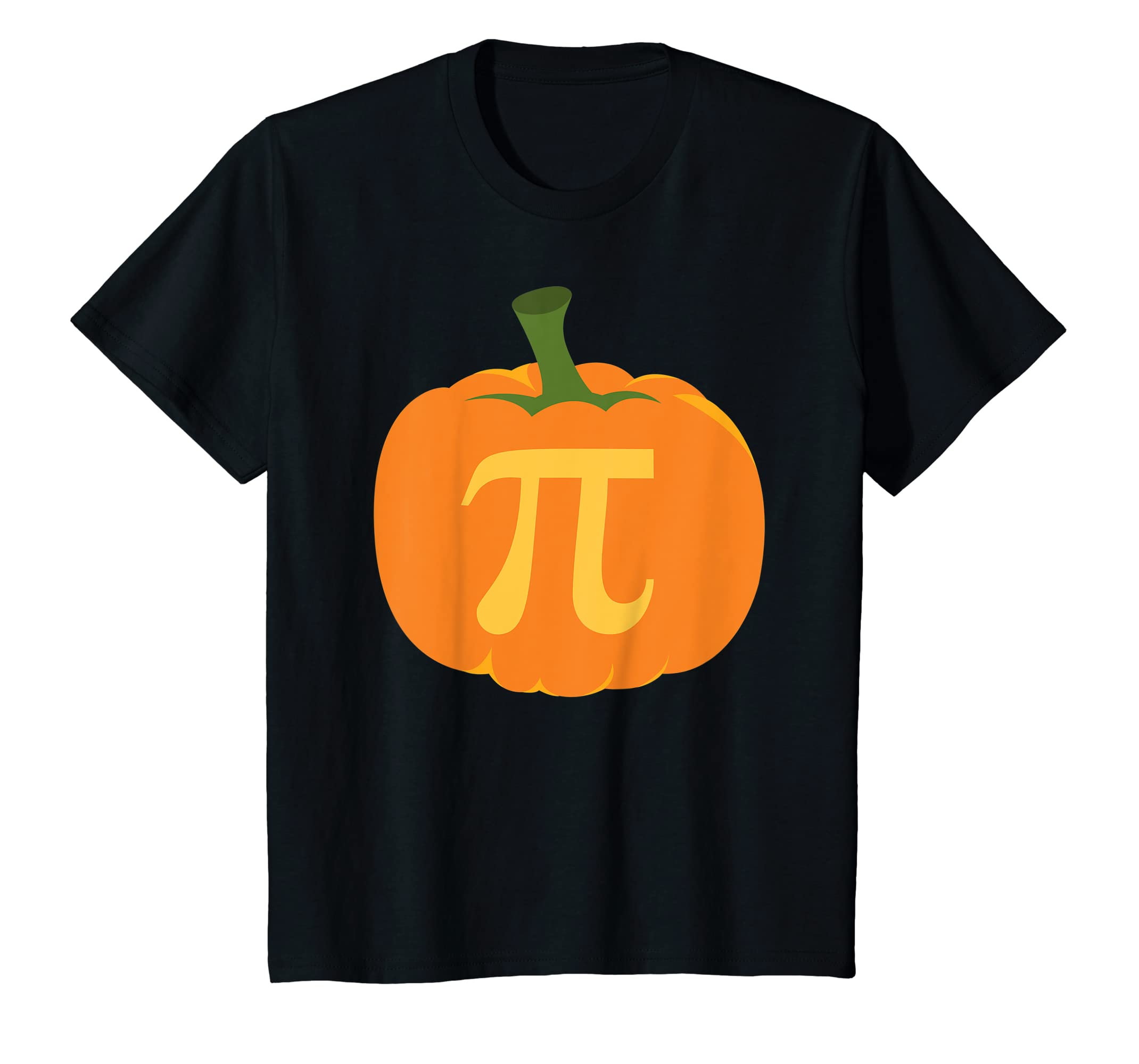3052b7cd Amazon.com: Funny Math Pumpkin Pi Pie T-Shirt: Clothing