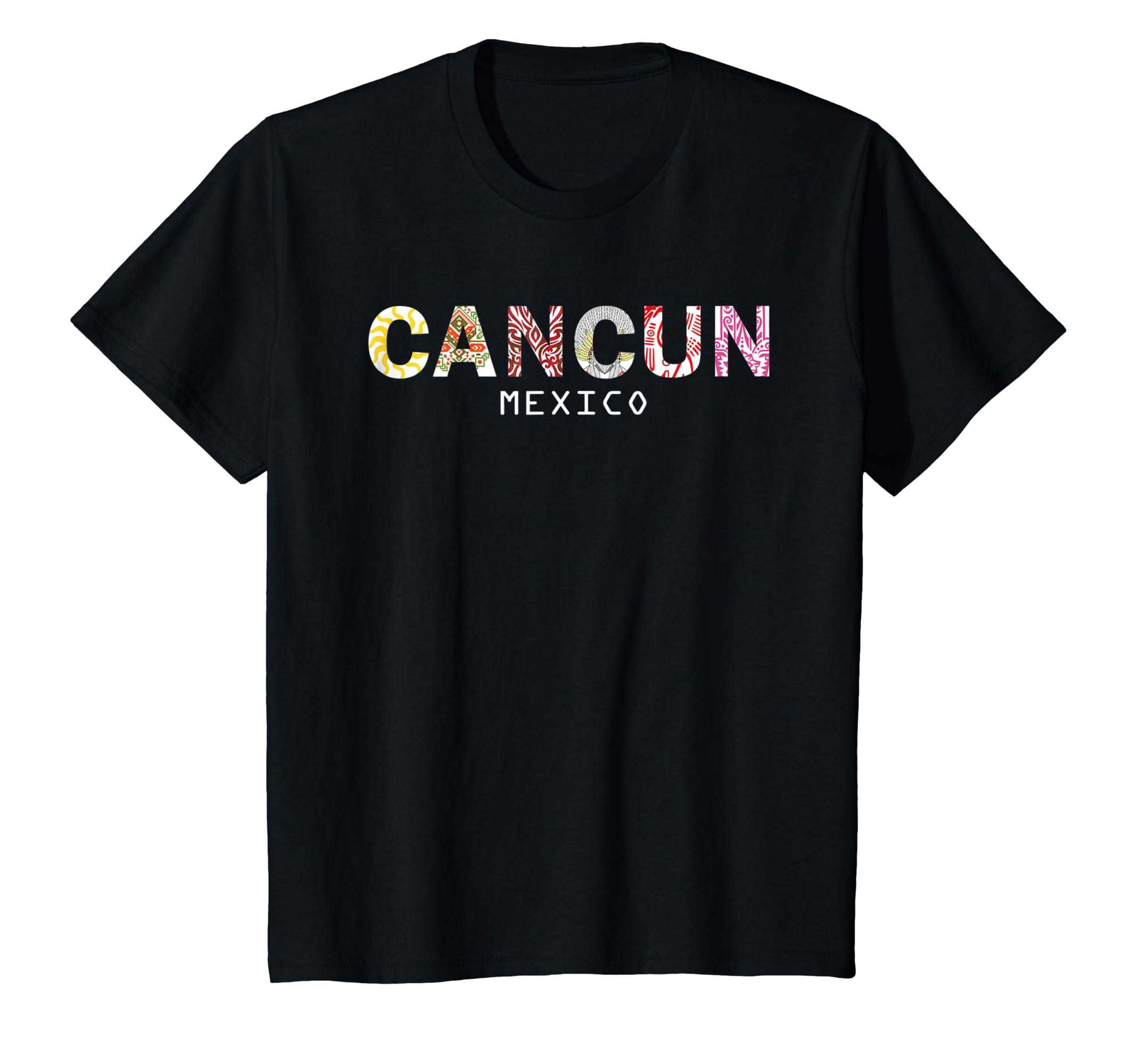 46a52745829e1e Amazon.com  Cancun Mexico Beach Palm Tree T-Shirt Party Destination Gift   Clothing
