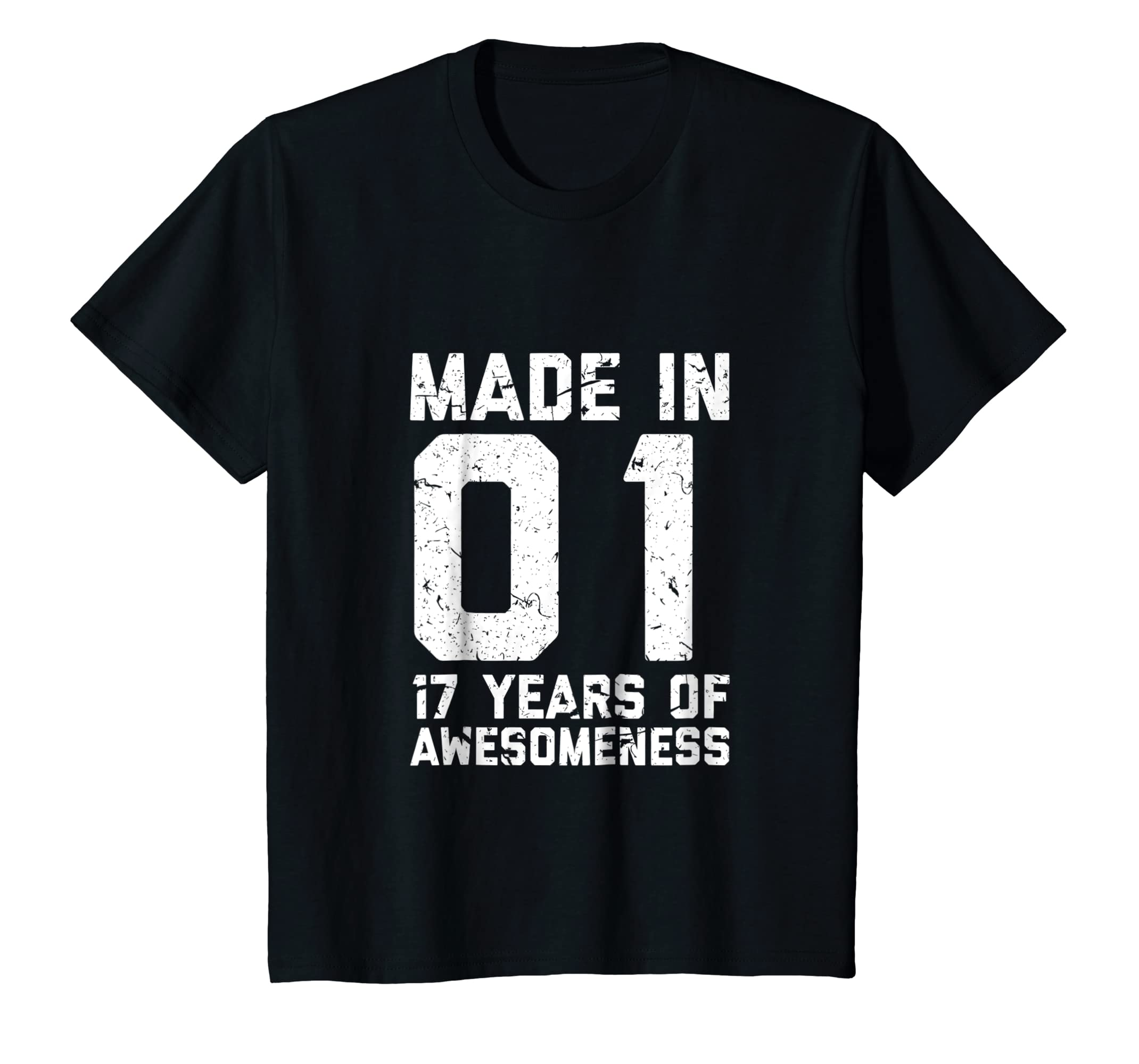 Amazon 17th Birthday Shirt Gift Age 17 Year Old Boy Girl Seventeen Clothing