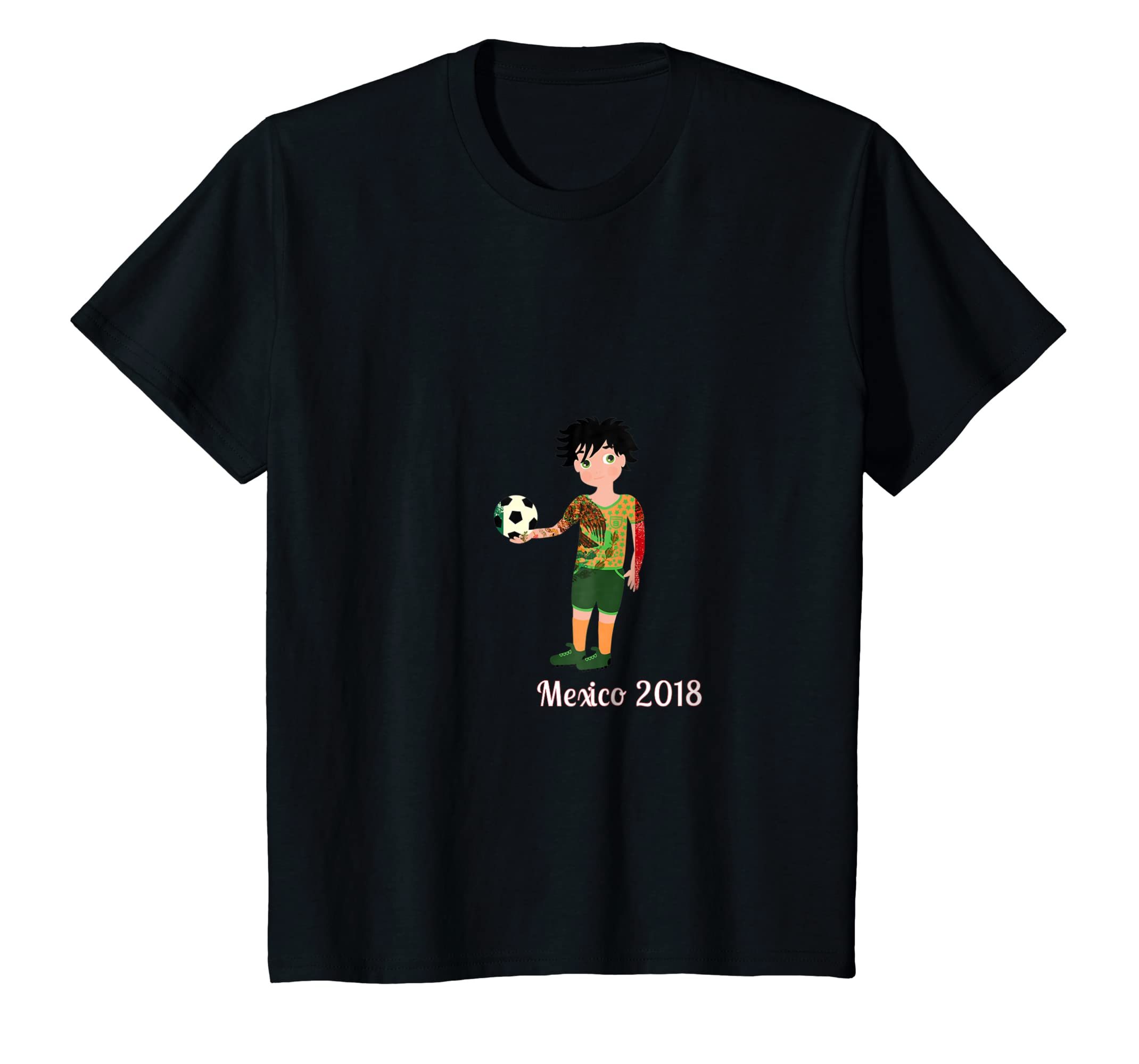Amazon.com: Mexico Soccer Jersey Shirt Mexican Flag Colors 2018: Clothing