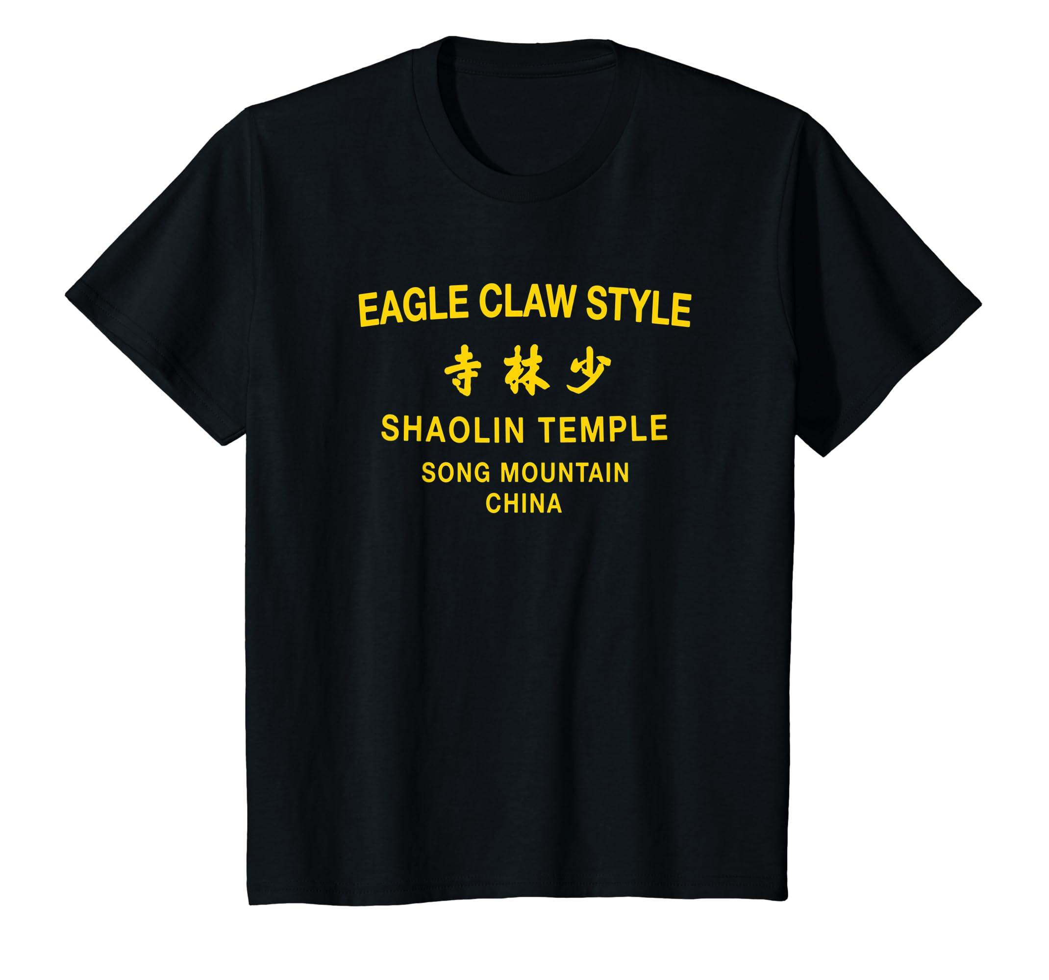 Amazon com: Shaolin Kung Fu Eagle Claw Style Martial Arts T