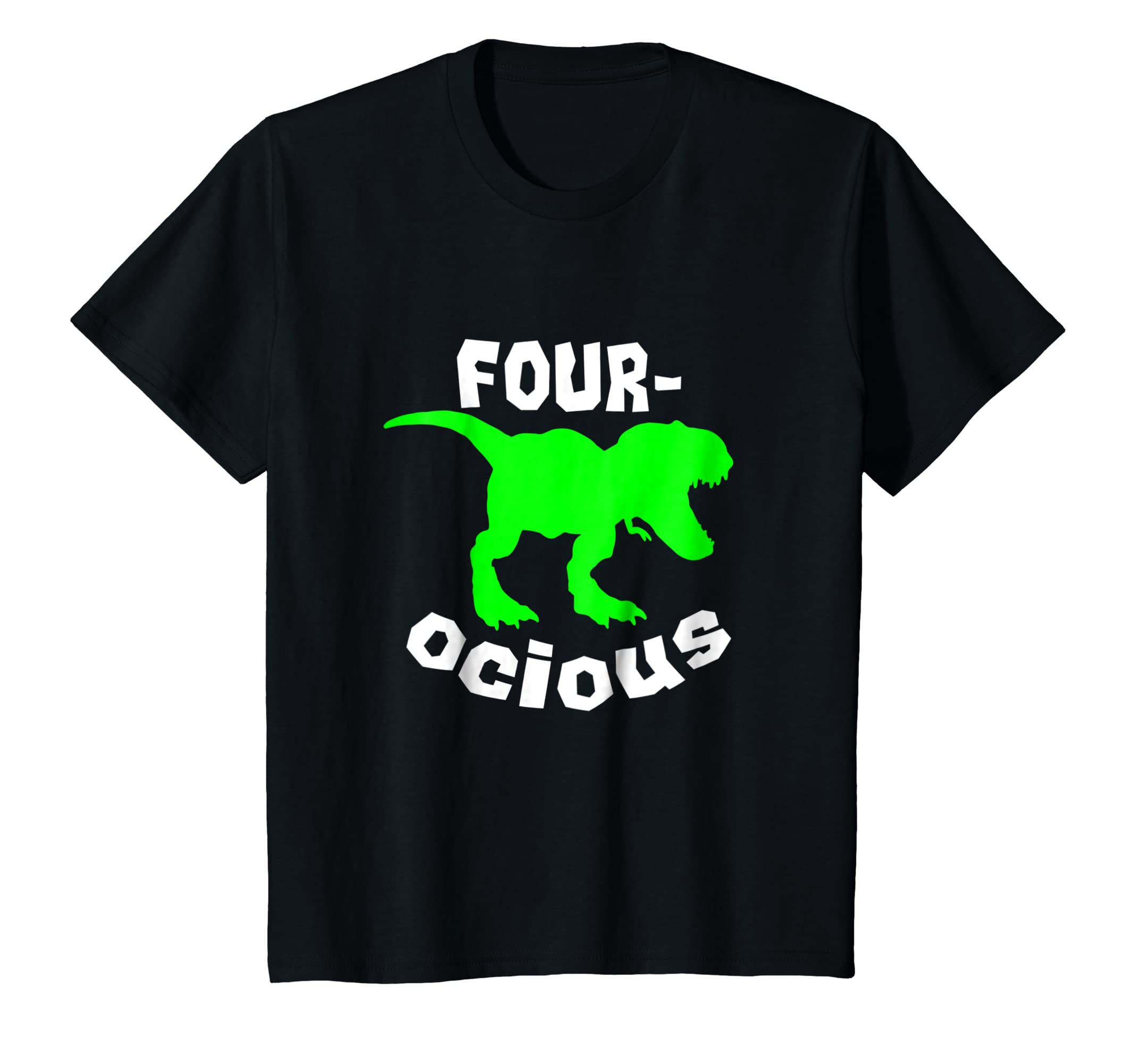 982140f6ca3 Amazon.com  Kids 4th Birthday Shirt Dinosaur Party 4 Year Old Boy Gift  Tshirt  Clothing