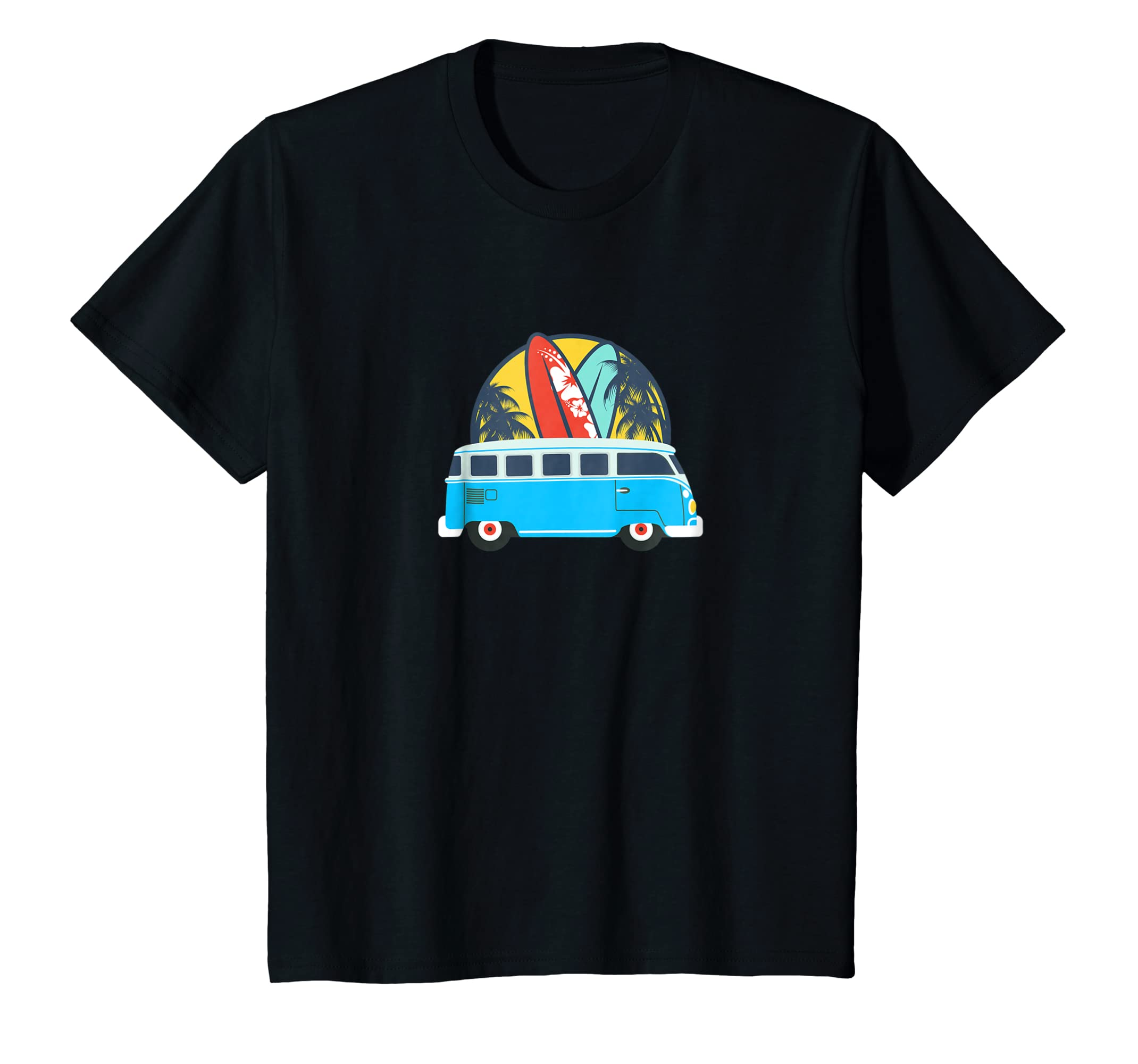 Endless Summer Van Surf Vintage T Shirt-Colonhue