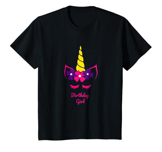 Kids fiesta de unicornio para nina camisetas regalos