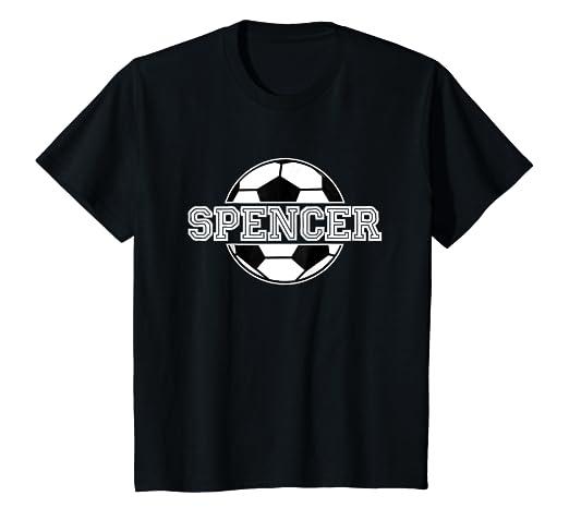 Amazon Kids Soccer Boy Spencer Birthday T Shirt Ball