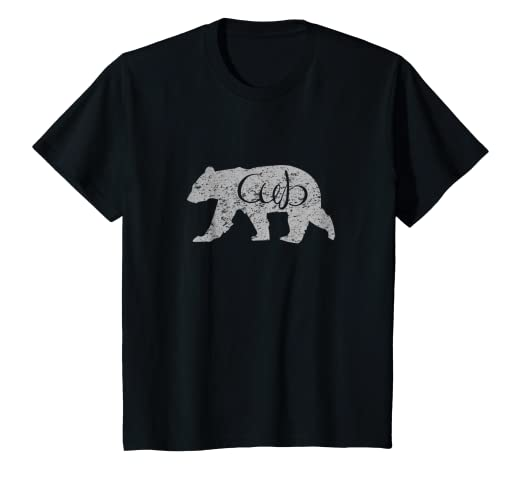 04e4d2998f25 Image Unavailable. Image not available for. Color: Kids Bear Cub Shirt  Graphic Tee Baby ...