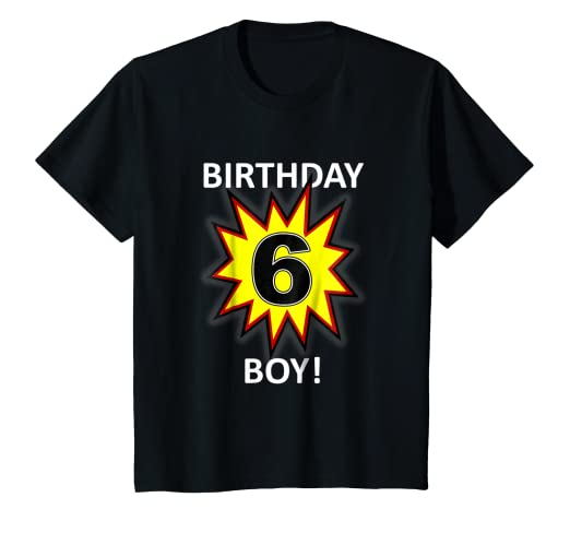 Image Unavailable Not Available For Color Kids Birthday Boy 6 T Shirt