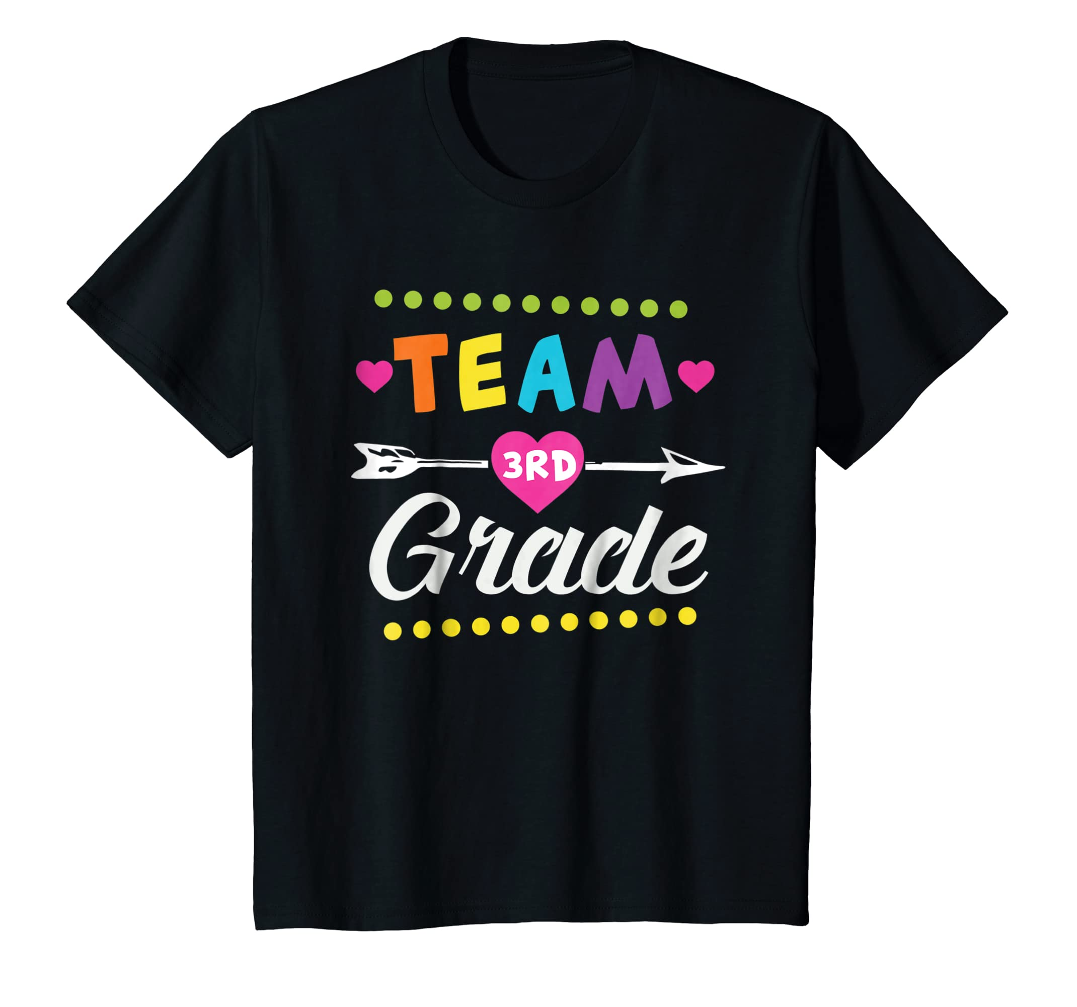 Team 3rd grade Teacher Shirt Team Third Grade Teacher