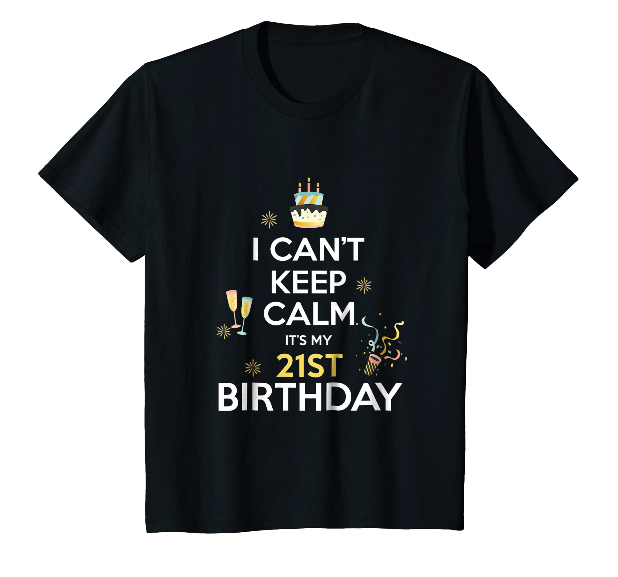 Amazon Birthday T Shirt For 21 Years Old 21st Gift Ideas Clothing