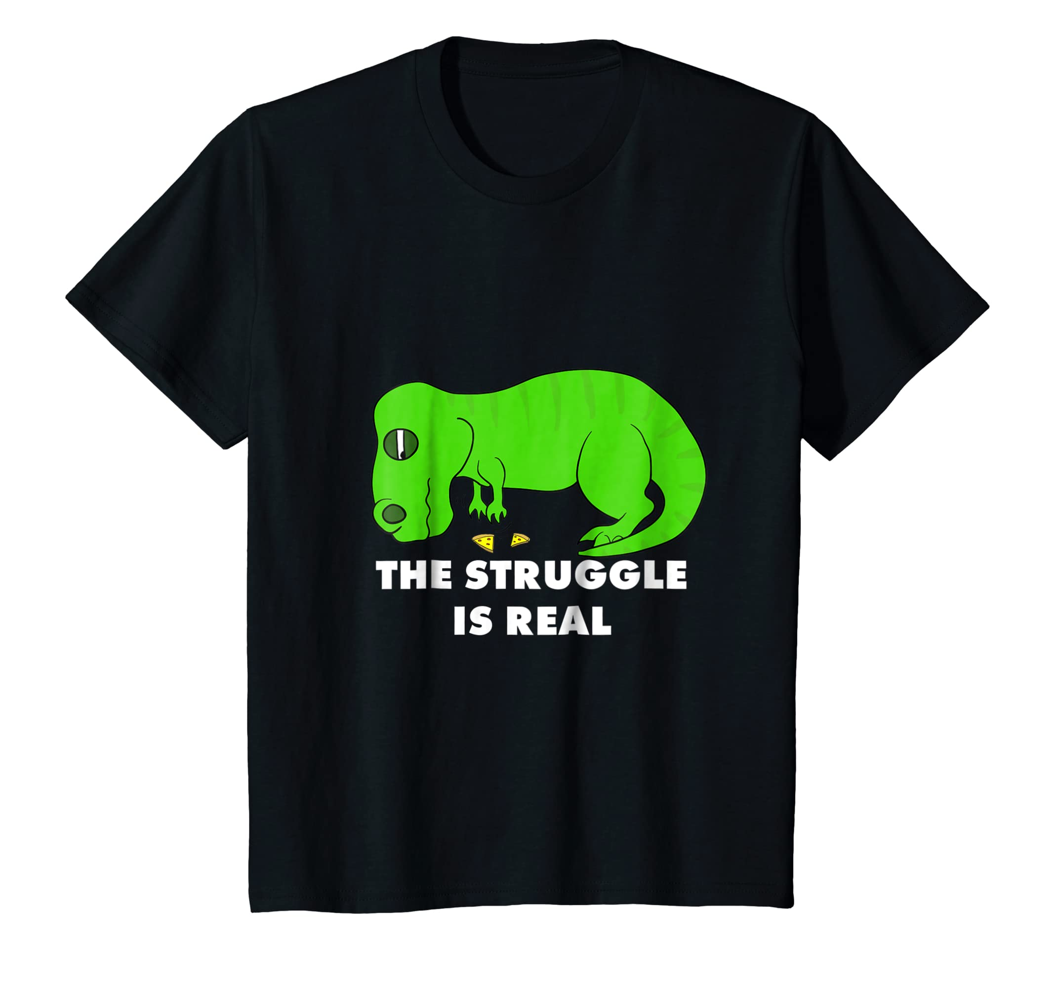 7cf8d38f1 Amazon.com: Funny T Rex T Shirt - The Struggle is Real T-Rex Tee: Clothing