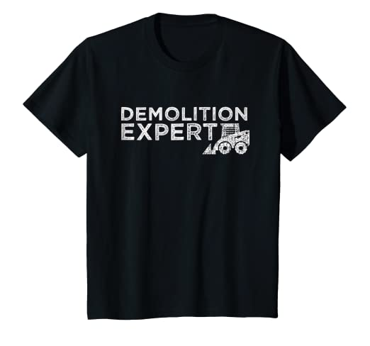 e4a7b45e9c657 Amazon.com: Kids Demolition Expert shirt for little boy: Clothing