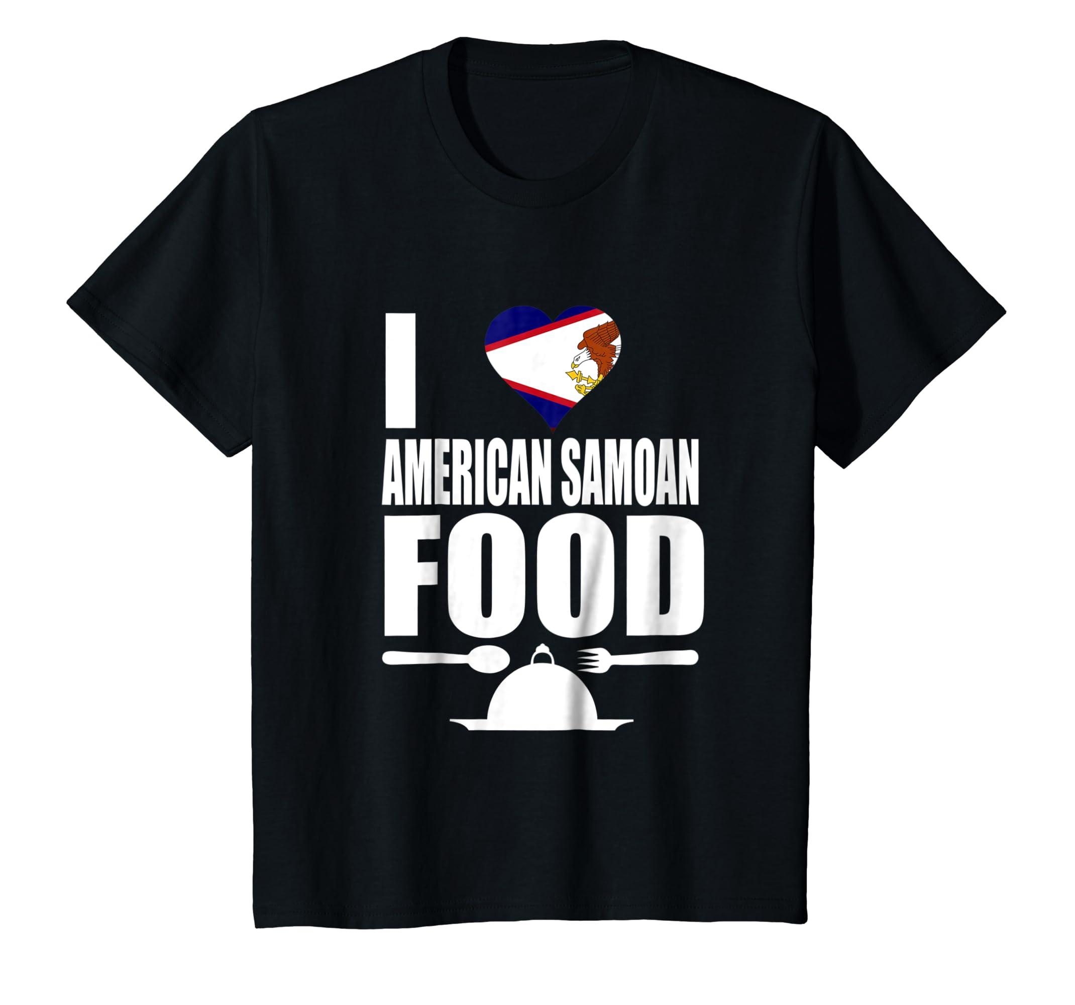 Amazon Storecastle I Love American Samoan Food Gift T Shirt