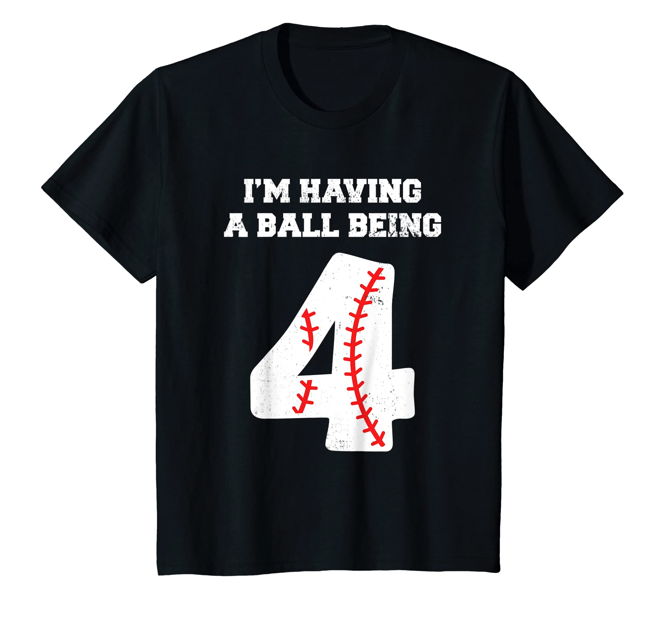 Amazon Kids 4 Year Old Baseball Birthday Shirt 4th Boys Clothing