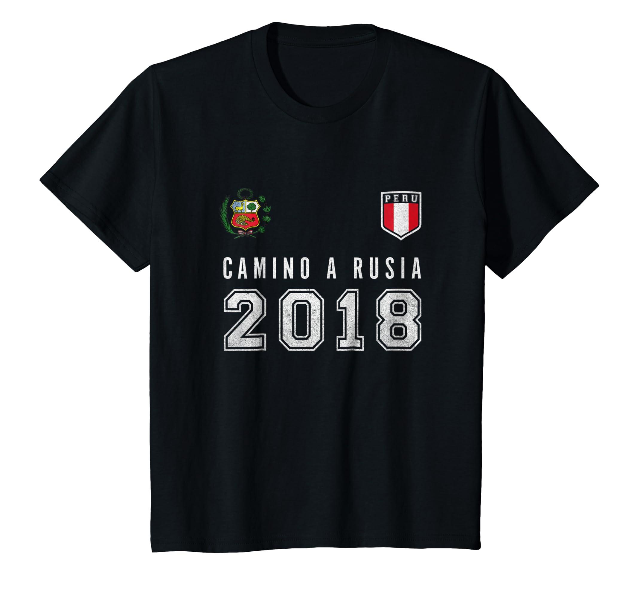Amazon.com: Peru Football, Soccer, Rusia 2018 tshirt - Camiseta Futbol: Clothing