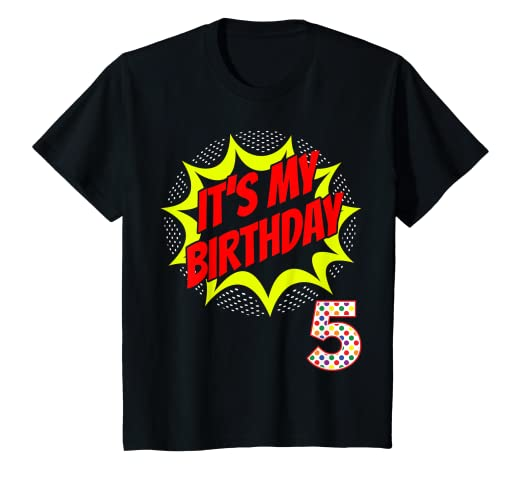 Image Unavailable Not Available For Color Kids Superhero Birthday Shirt