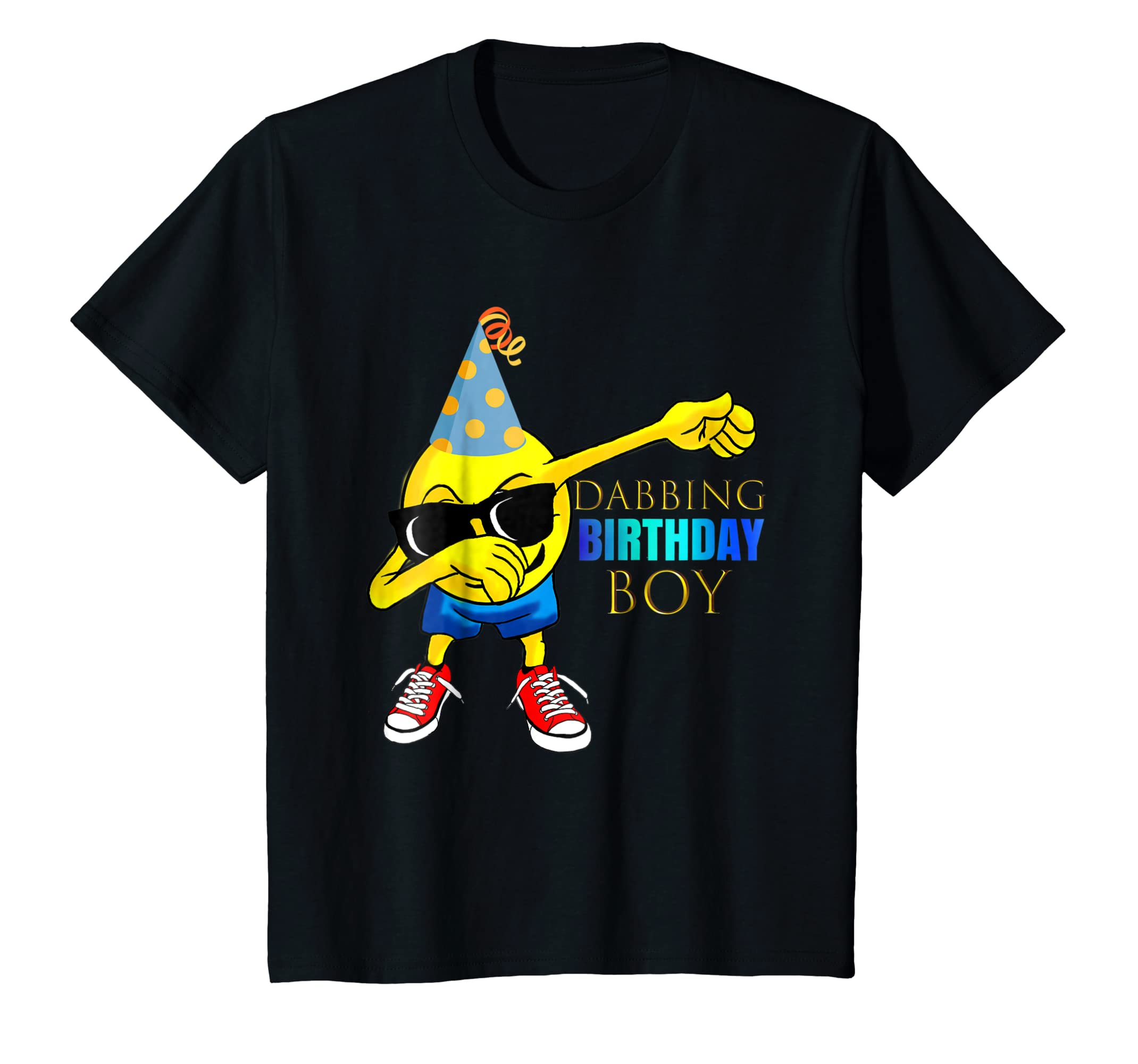 Amazon COOL DABBING Emoji Birthday Shirt Boys Party Outfit Gift Clothing