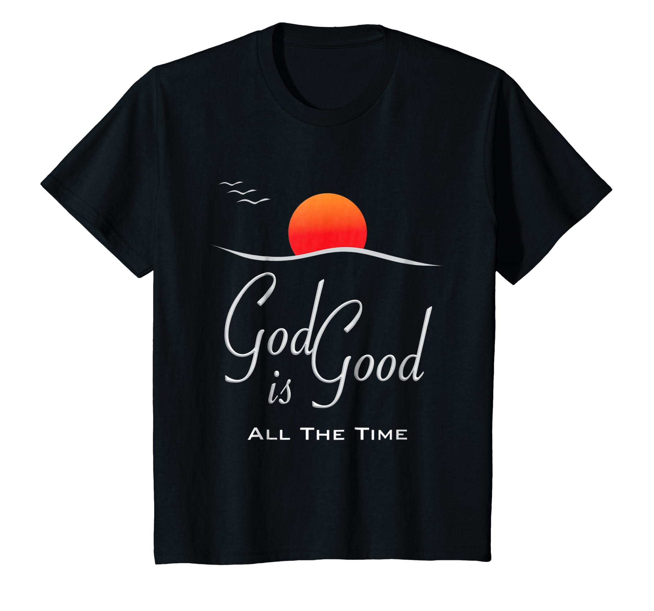 God is Good Tshirt Christian Jesus Shirt Church Christ Gift