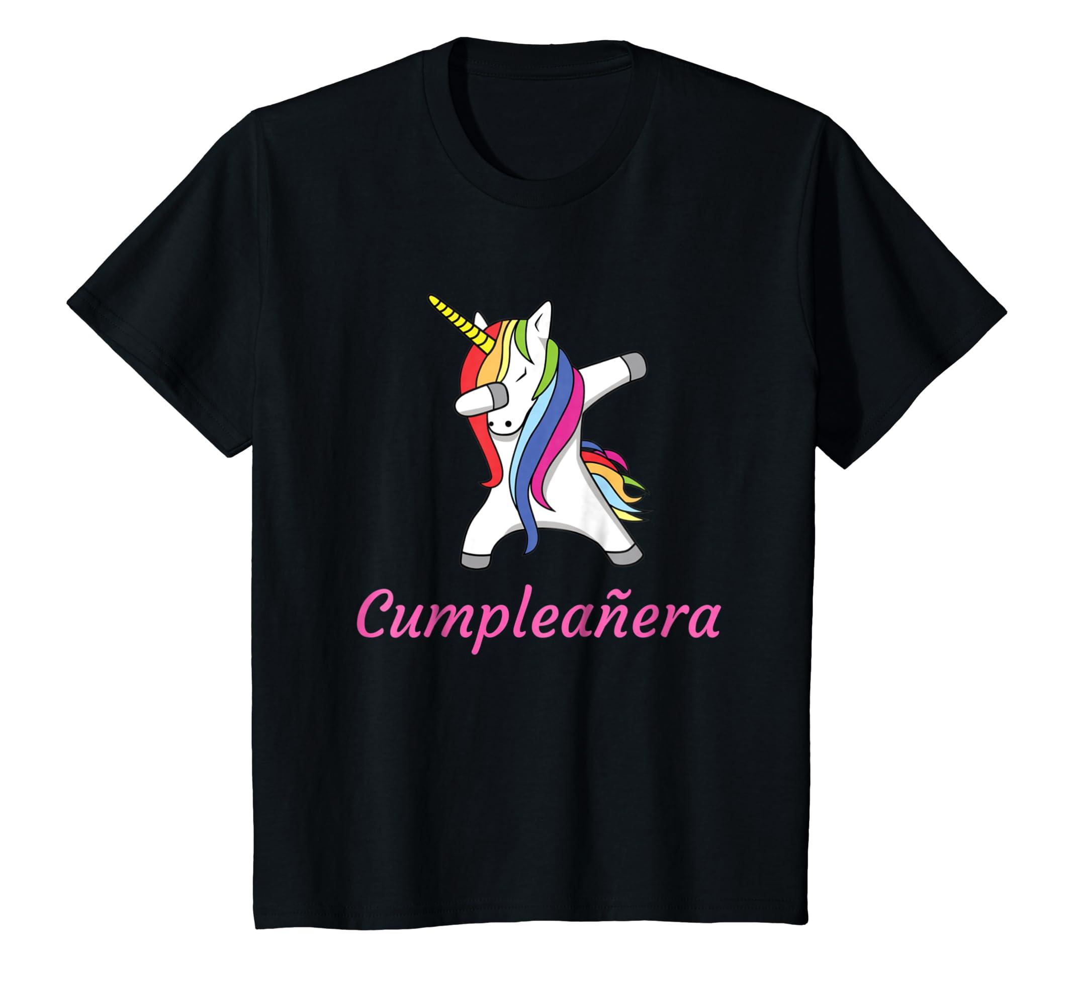 Amazon.com: Camiseta de cumpleanos para mujer nina - Unicornio Dab Dance: Clothing