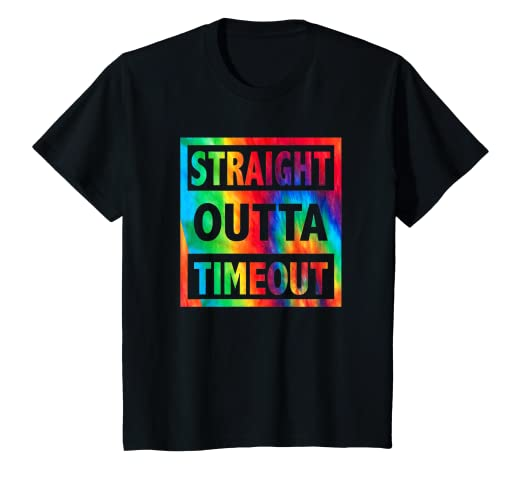 eab48afd Image Unavailable. Image not available for. Color: Kids Straight Outta  Timeout - Funny Kids, Toddler T-Shirt