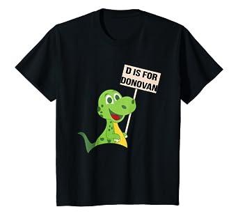 Amazon com: Kids Cute Alphabet Animal TShirt Dinosaur