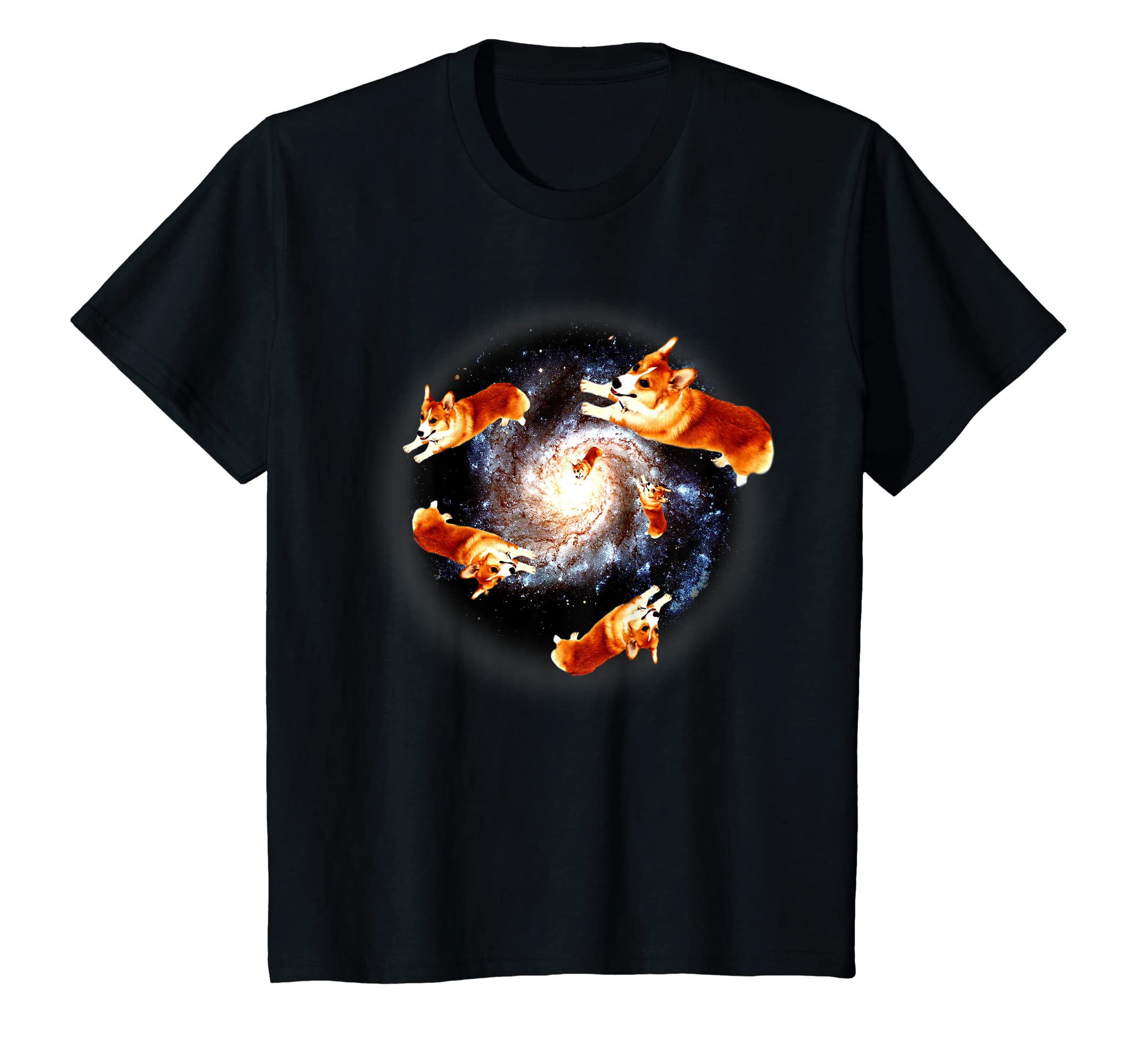 681c80d3 Amazon.com: Corgi Galaxy - Funny T Shirt Gift for Men Women Boys & Girls:  Clothing