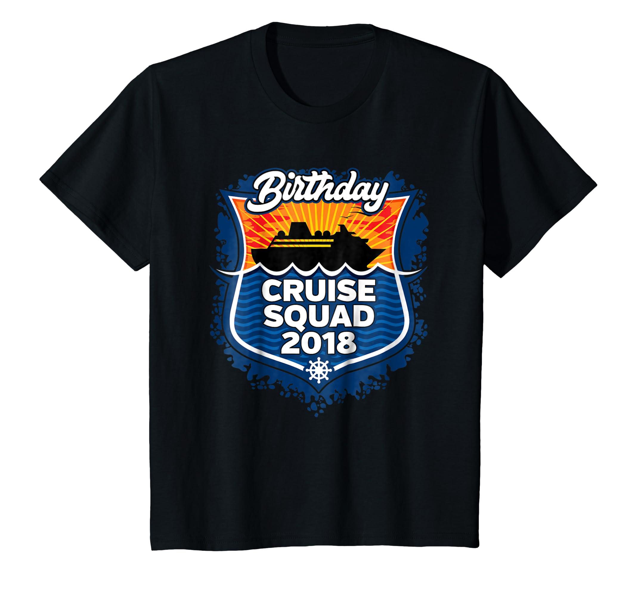 Amazon Family Cruise Squad 2018 T Shirt Birthday Vacation Clothing