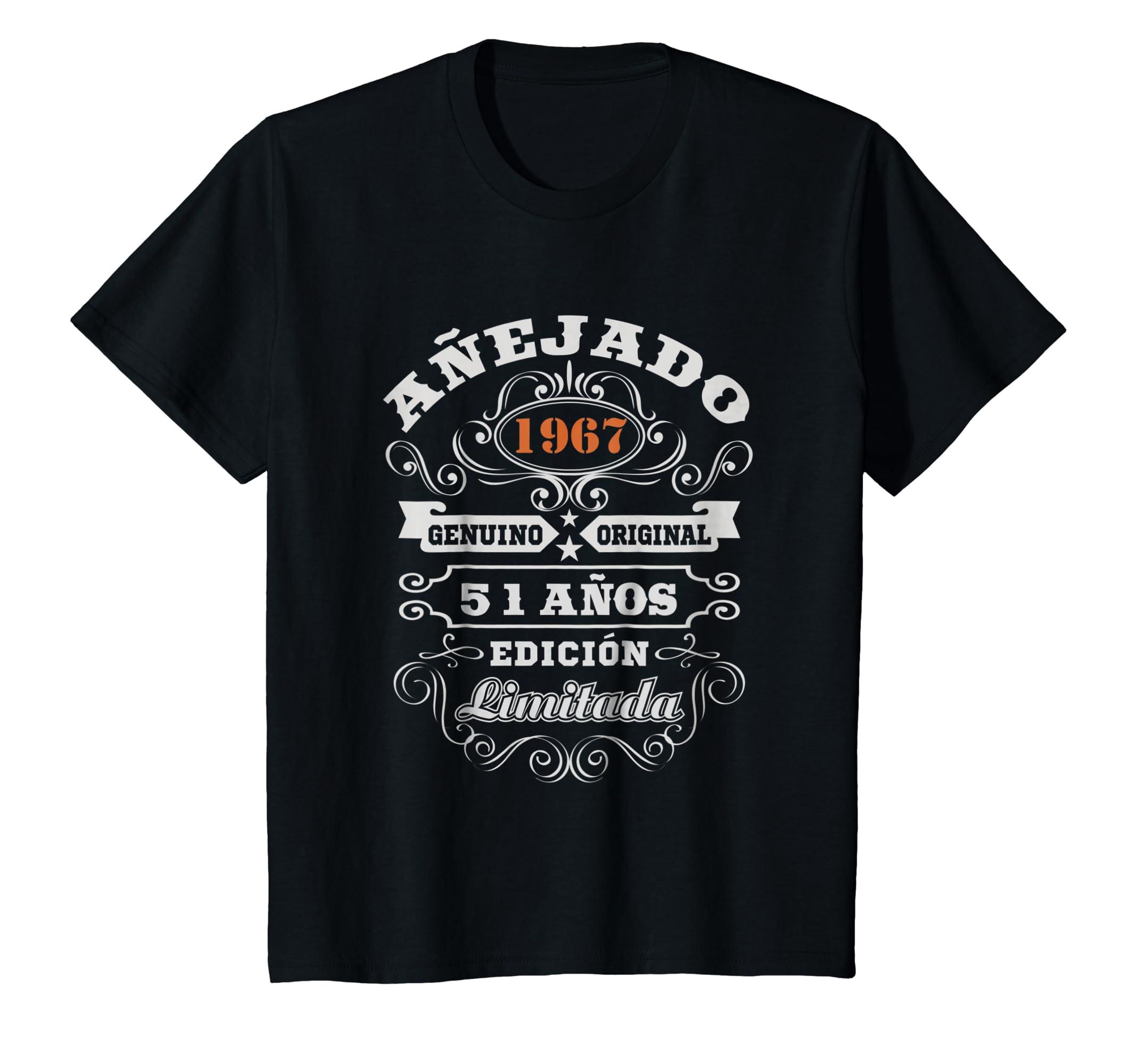 Amazon.com: Camiseta Cumpleanos 51 T-Shirt 1967 51 Anos ...