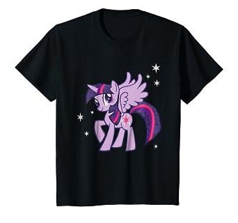 Amazoncom Kids My Little Pony Twilight Sparkle Starry T Shirt