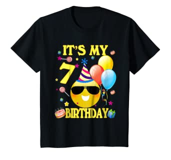 Image Unavailable Not Available For Color Kids Its My 7 Birthday Shirt Years Old