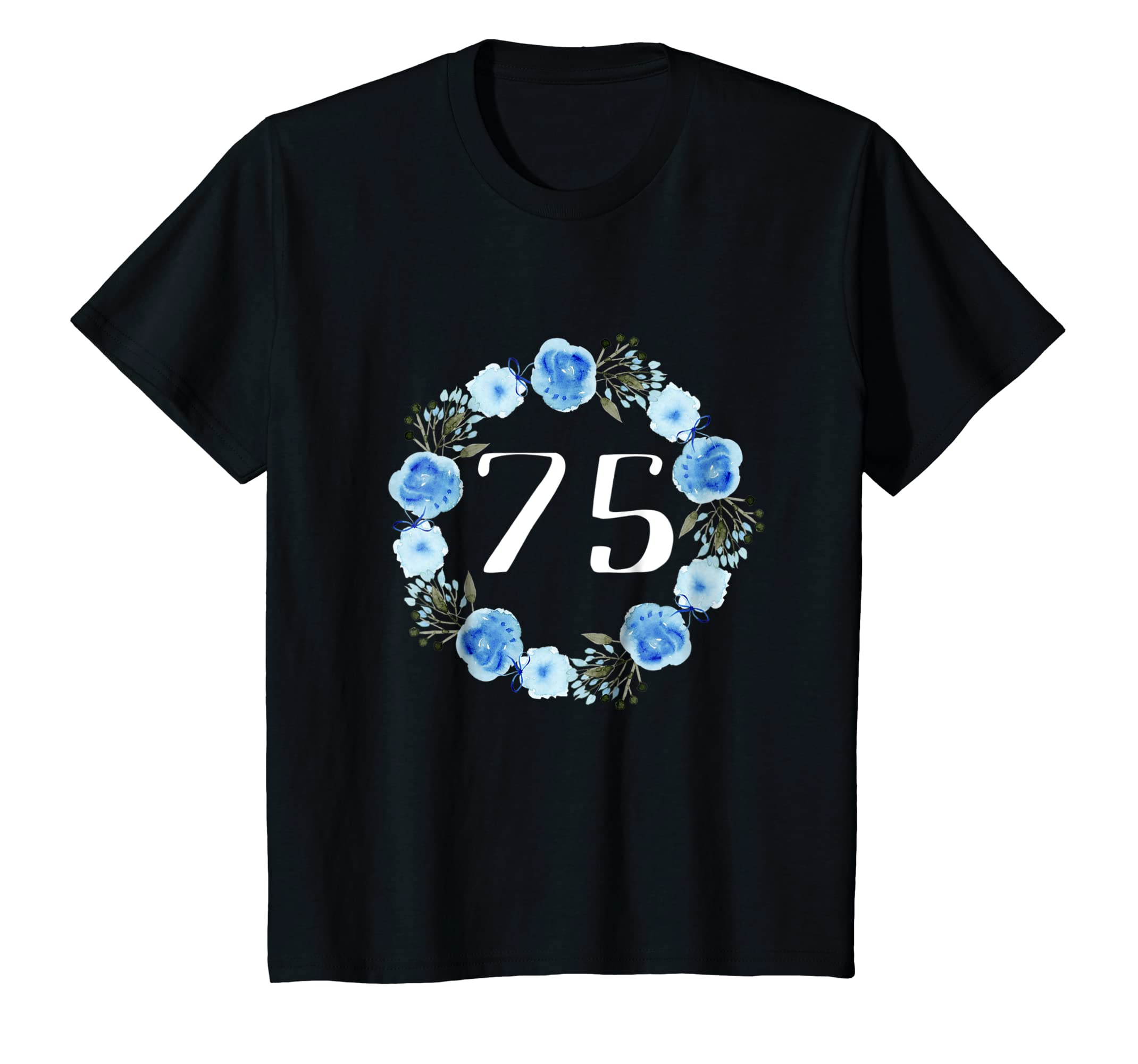 Amazon 75th Birthday Gifts For Women Shirts For 75 Year Old