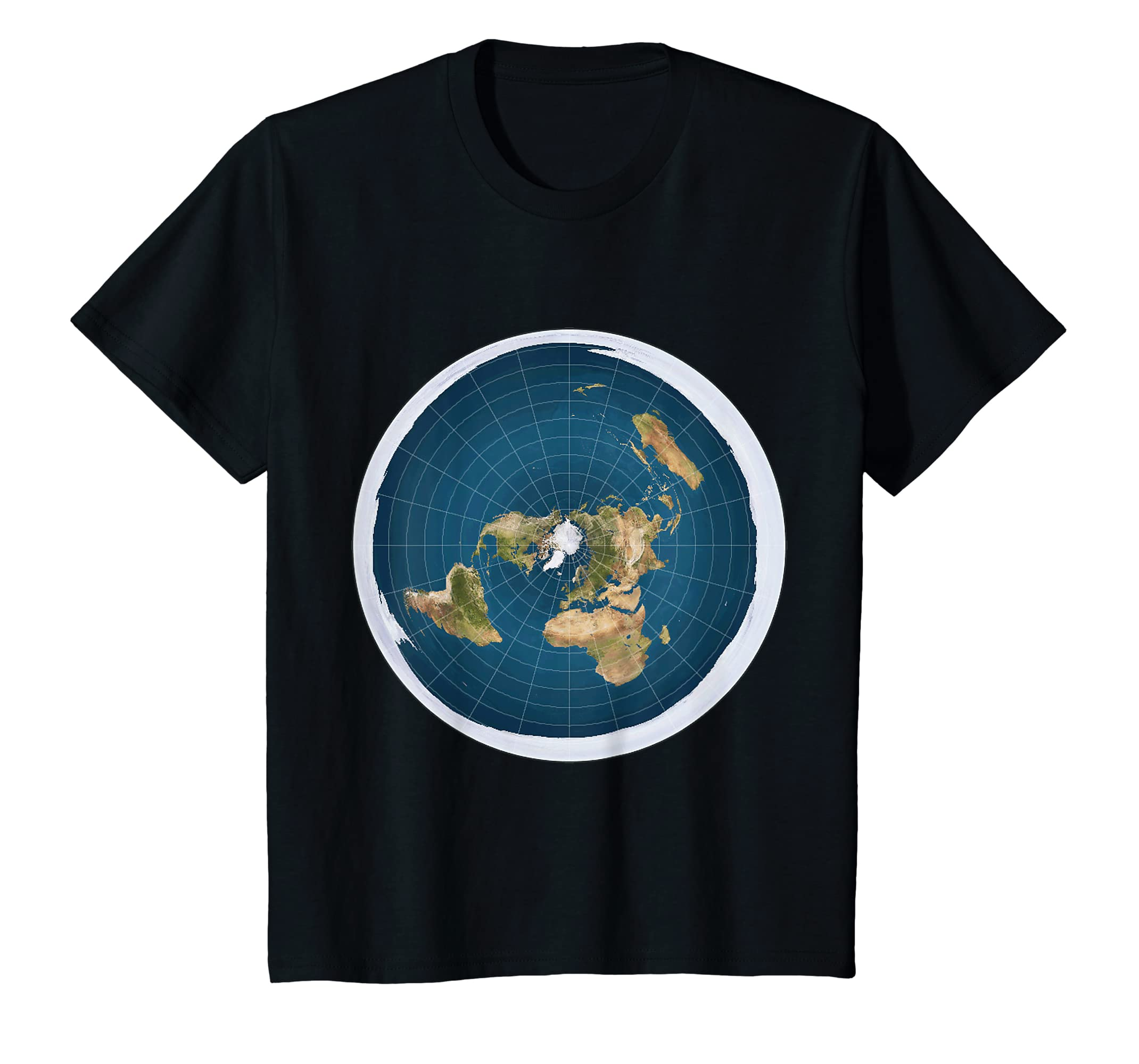 c182ea22e89 Amazon.com  Flat Earth T-Shirt  Clothing