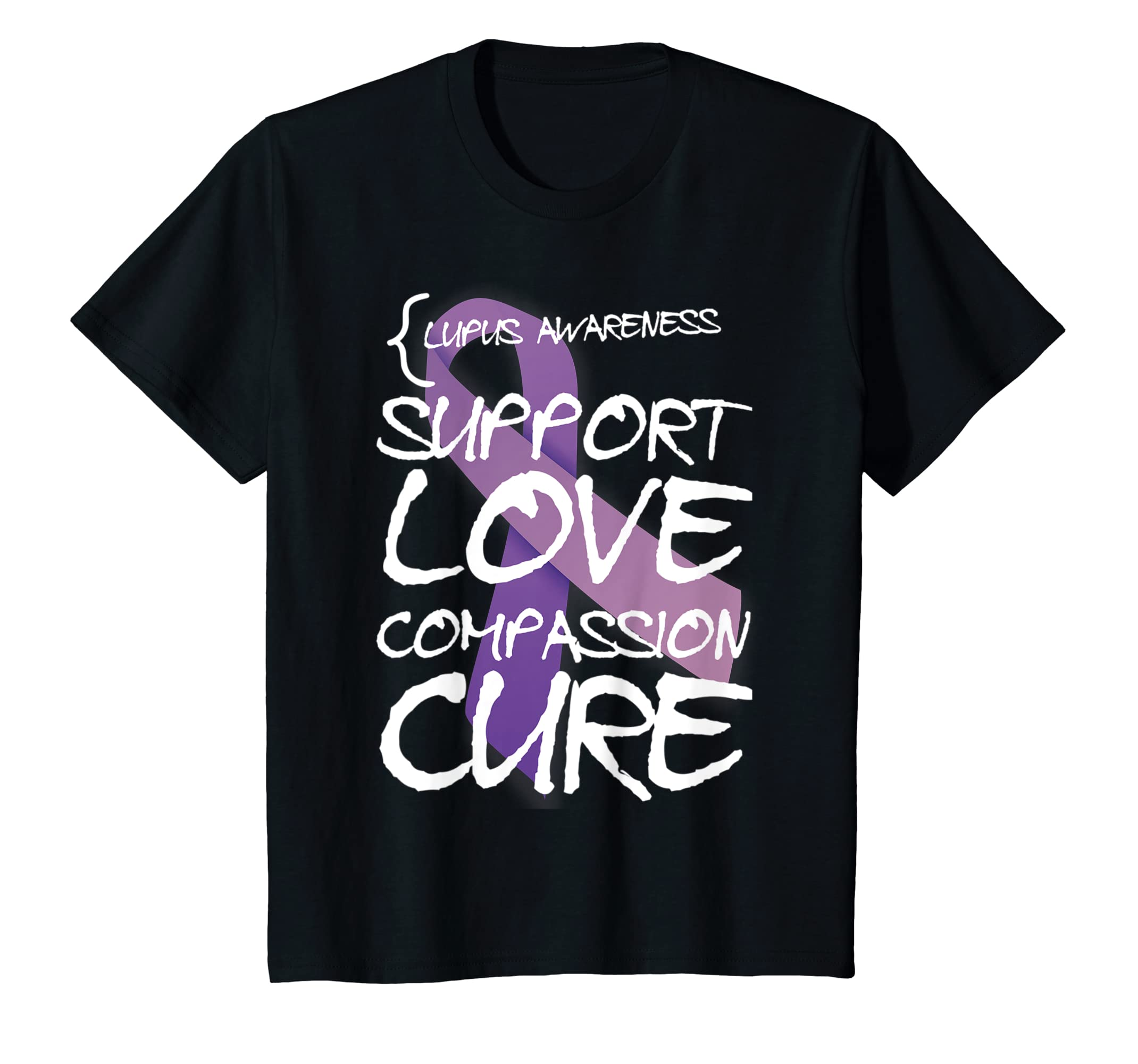 Amazon Com Lupus Awareness Shirt Wear Purple Lupus Support Month
