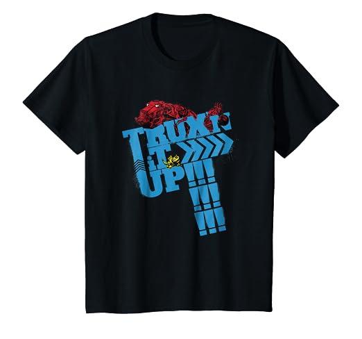 11cb0cac Amazon.com: Kids DreamWorks DinoTrux - Trux'n it Up! T-Shirt: Clothing