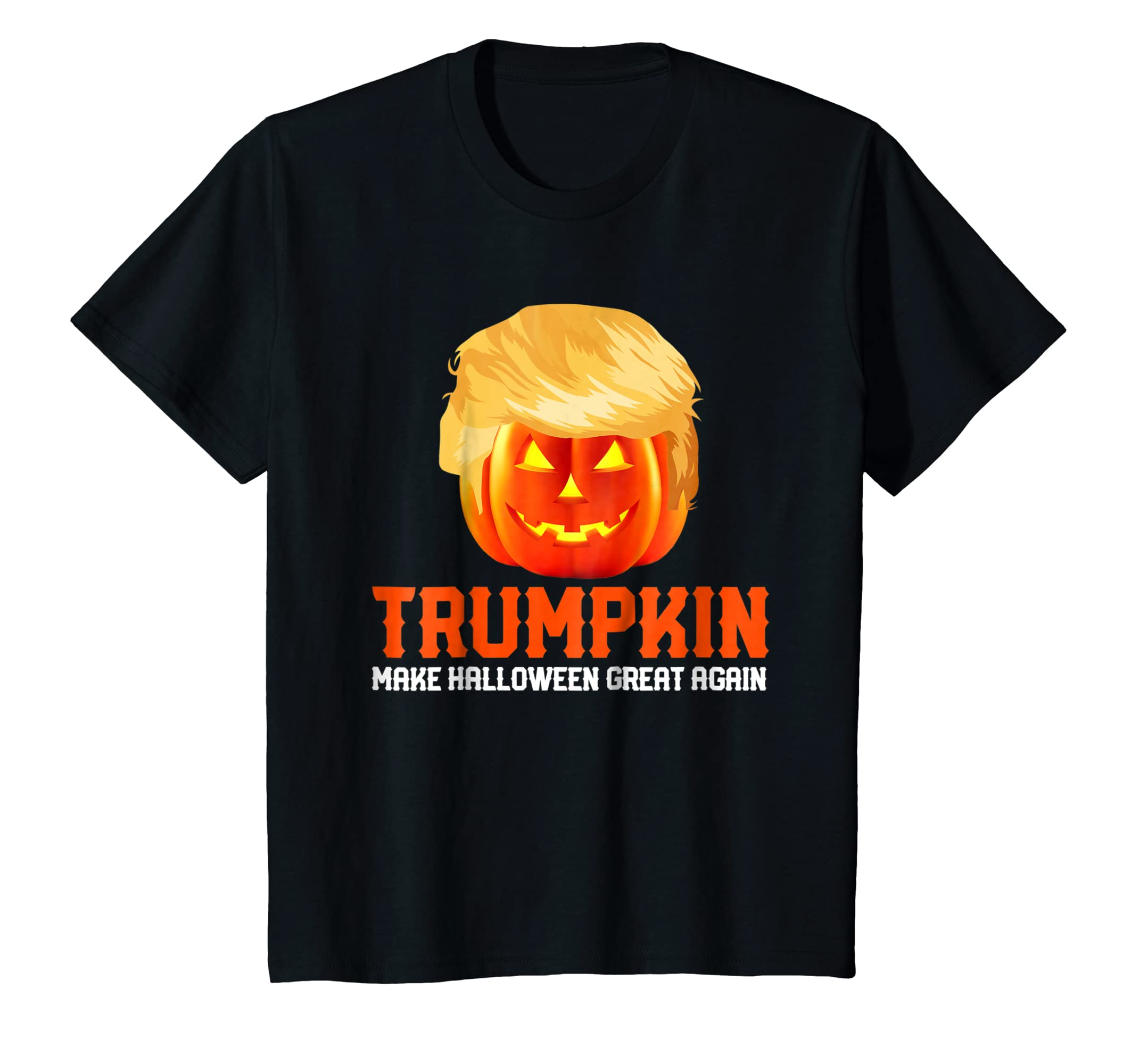 TRUMPKIN T SHIRT Funny Halloween Trump Pumpkin Costume Gift