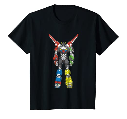 f0d581f8 Image Unavailable. Image not available for. Color: Kids Voltron Legendary  Defender All 5 Combined Lions T-Shirt