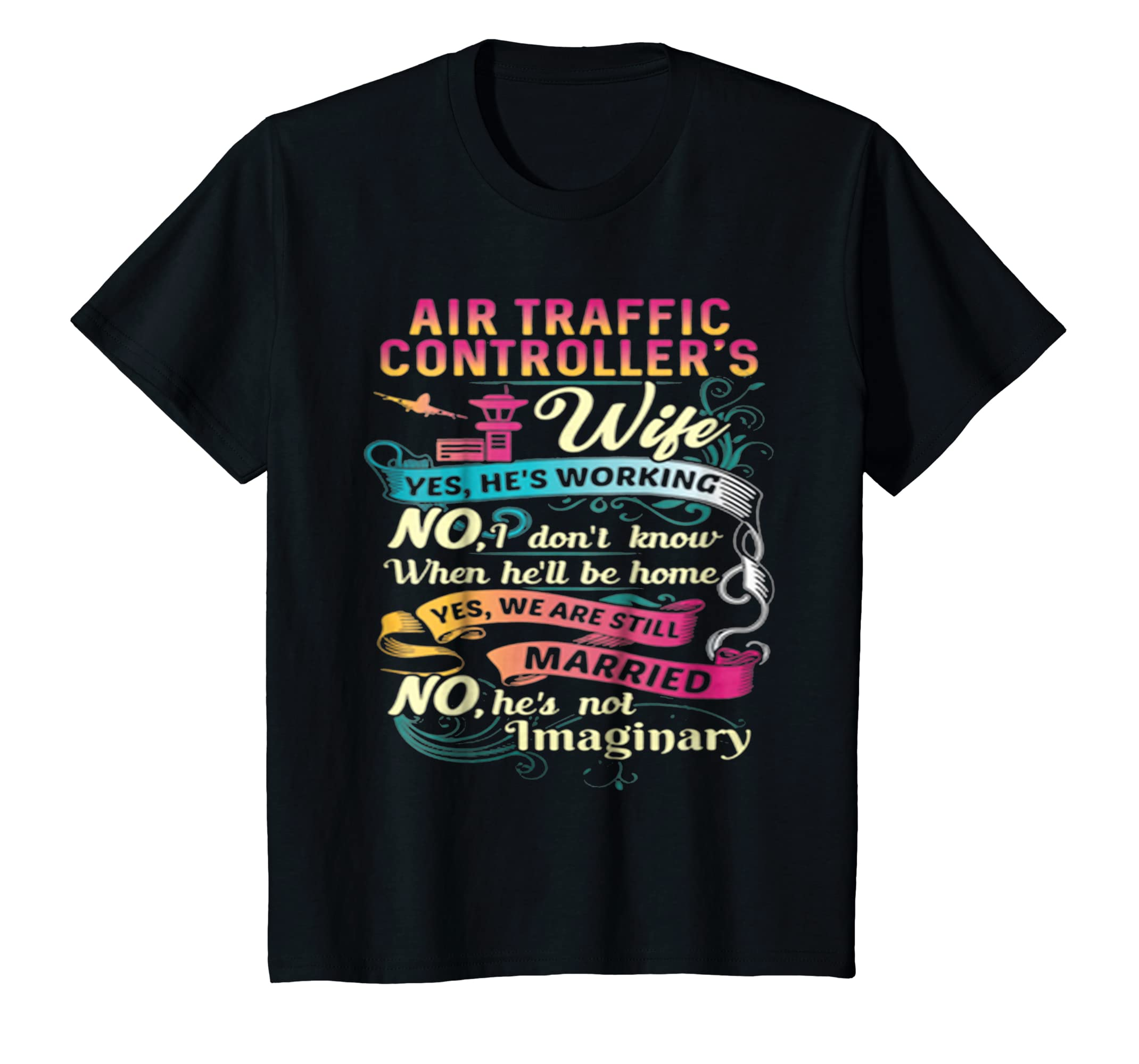 Best Halloween Gift Air Traffic Control Airport ATC T Shirts