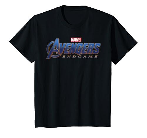0b0403fd5bf1 Amazon.com  Marvel Avengers Endgame Movie Logo Graphic T-Shirt  Clothing