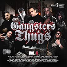 Menace 2 Society Presents: Gangsters & Thugs, Vol. 5 [Explicit]