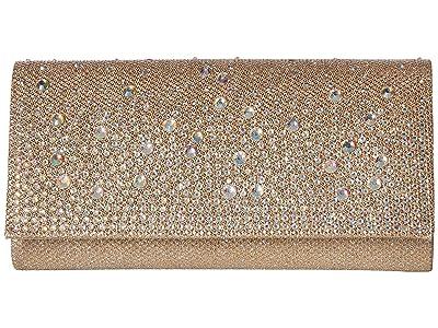 Jessica McClintock Chloe Cascading (Champagne) Handbags