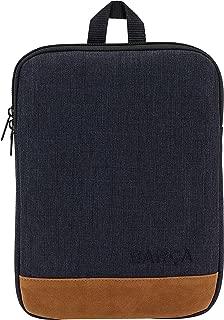 F.C. Barcelona 黑色休闲官方笔记本电脑包,适用于 10.6 英寸笔记本电脑