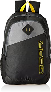 Gear 21 Ltrs Black Casual Backpack (MDBKPECO50104)
