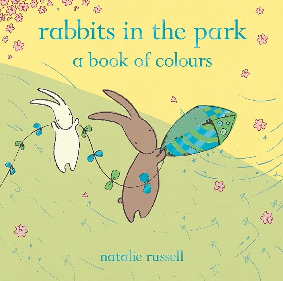 製造業合理的雨のRabbits in the Park: A Book of Colours (English Edition)