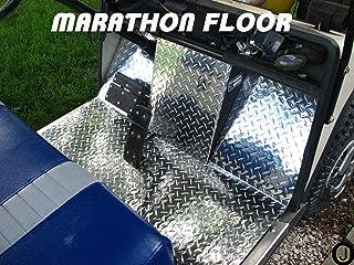 EzGo Marathon golf cart Diamond Plate Floor