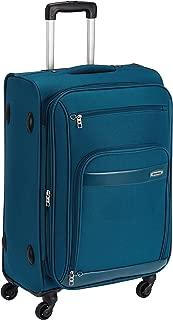 Aristocrat Polyester 76 cms Blue Soft Sided Suitcase (STVEYWH76BLU)