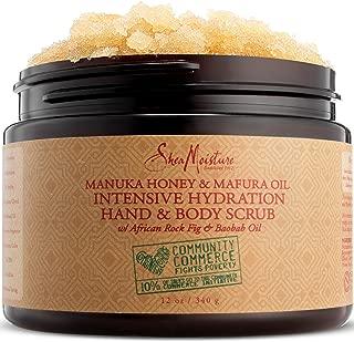 SheaMoisture Manuka Honey & Mafura Oil Intensive Hydration Hand & Body Scrub