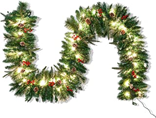 Best snow garland for christmas tree Reviews
