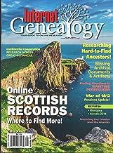 Internet Genealogy Magazine April May 2019